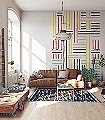 Breton-Patch-XL-Streifen-Linie-Moderne-Muster-FotoTapeten-Multicolor
