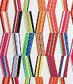 Carriaacou-Multicolore-Karos-Linie-Graphisch-Moderne-Muster-Grafische-Muster-Multicolor