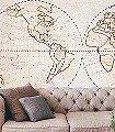 Globe,-col.-01-Landkarte-Moderne-Muster-FotoTapeten-Multicolor