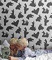 Hand-Made,-Grey-Figuren-Moderne-Muster-KinderTapeten-Grau-Schwarz