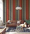 Khalil,-col.01-Streifen-Stoff-Moderne-Muster-Rot-Multicolor