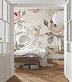 La-Maison-Blumen-FotoTapeten-Rosa-Creme