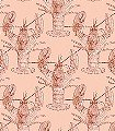 Lobster,-salmon-Tiere-Fauna