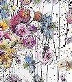 Lush-Blumen-Farbverlauf-Florale-Muster-FotoTapeten-Schwarz-Multicolor-weinrot