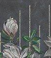 Magnolia-Frieze,-col.-1-Streifen-Blumen-Linie-Florale-Muster-FotoTapeten-Multicolor