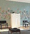 Magnolia-Frieze,-col.-2-Streifen-Blumen-Linie-Florale-Muster-FotoTapeten-Multicolor