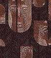 Mask-Coconut-Gesichter-Moderne-Muster-Braun-Bronze