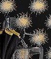 Mikada,-col.01-Blumen-Moderne-Muster-Gold-Silber-Schwarz
