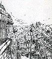 Montmartre-Landschaft-Kunst-Zeichnungen-FotoTapeten