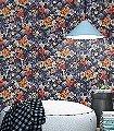 Nausika,-col.12-Blumen-Florale-Muster-Blau-Orange
