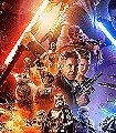 Star-Wars-EP7-Official-Movie-Poster-Comic-Collage-FotoTapeten-Rot-Blau-Schwarz