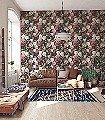 Talibe,-col.02-Blumen-Florale-Muster-Barock-Multicolor-petrol