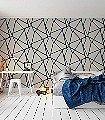 Wenzel,-col.07-Linie-Stoff-Dreiecke-Moderne-Muster-Blau-Silber-Schwarz