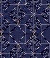 Yves,-col.72-Graphisch-Grafische-Muster-Art-Deco-Blau