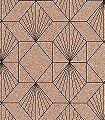 Yves,-col.80-Graphisch-Grafische-Muster-Art-Deco-Braun