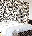 Zebra-mural,-col.-01-Tierhaut-Fauna-Moderne-Muster-FotoTapeten-Anthrazit-Creme
