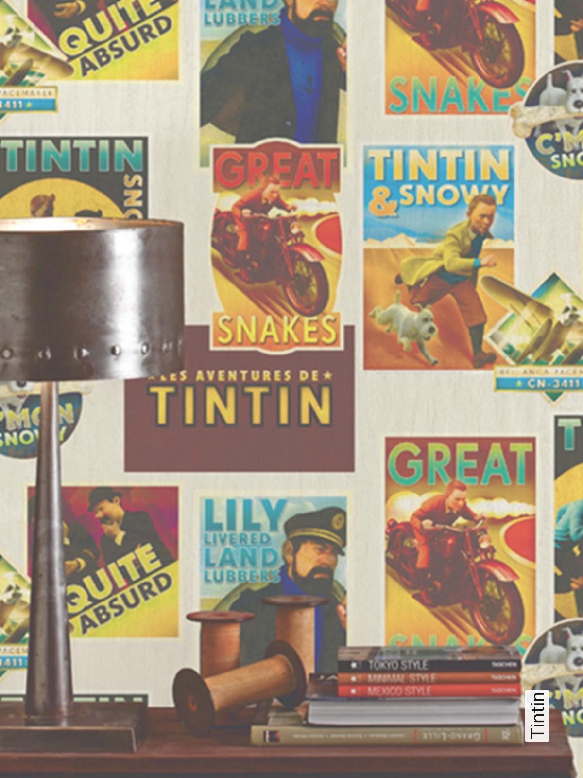 tapete tintin | die tapetenagentur