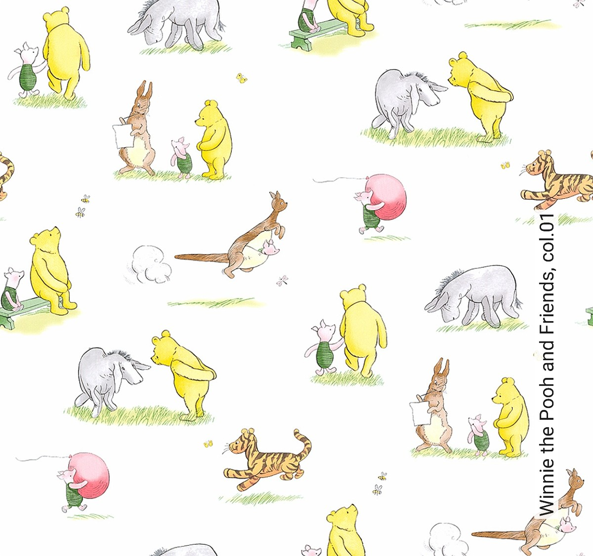 Tapete Winnie the Pooh and Friends, col.01 | Die TapetenAgentur