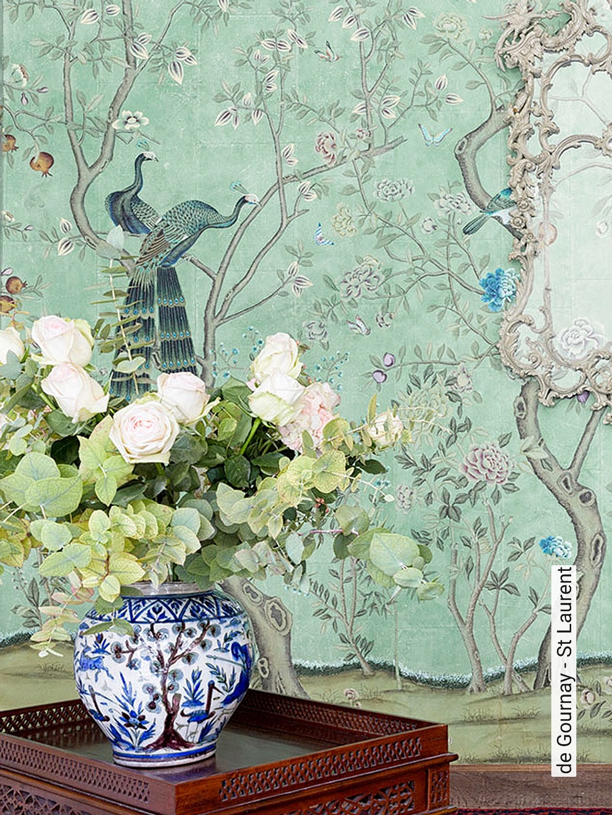 Tapete De Gournay St Laurent Die Tapetenagentur