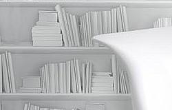 Tapete White Bookshelf Tapetenagentur De