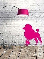 Walltatoo: Pudel, pink