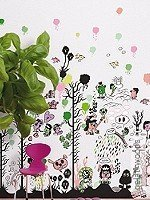 Walltatoo: gelati woods