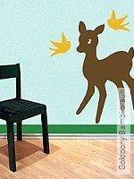 NOKEY  Goldpony Bambi braun