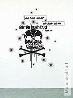 Walltatoo: Motor death art