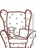 Tapete: Meine kleine Wohnküche, Sessel