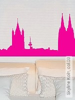 Walltatoo: Skyline Köln, col.03