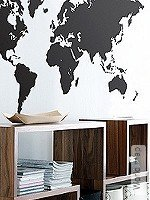 Walltatoo: World map
