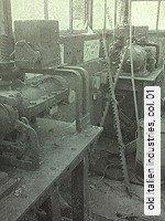 Tapeten  - DIN 4102 B1 old italien industries,  01