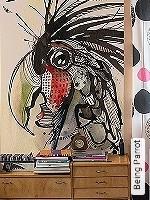 Tapeten  - DIN 4102 B1 Being Parrot