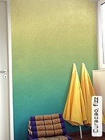Tapete  - Dimensionsstabil - Moderne Muster Curacao, fizz