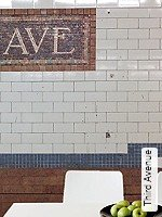Tapete  - Dimensionsstabil - Moderne Muster Third Avenue