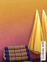 Tapete  - Dimensionsstabil - Moderne Muster Curacao, split