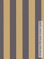 Tapete: Anakreon Stripes, brown gold
