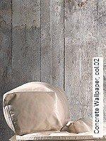 Tapeten  - Wandklebetechnik - Moderne Muster Concrete Wallpaper, 02