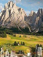 Tapete: Alpen