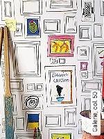 Tapeten  - Bilderrahmen - Moderne Muster Galerie,  50