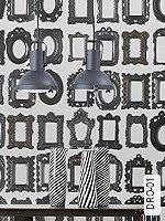 Tapeten  - Bilderrahmen - Moderne Muster DRO-01