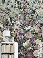 Tapete  - Blumen Botanica
