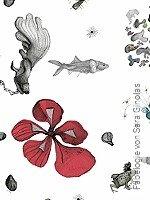 Tapete  - Collage Fabelogie von Sara Ginolas