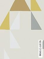 Tapeten  - Dreiecke Modul, 06