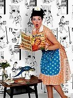 Tapete: 50`s Housewives