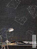 Tapete  - Formen Chalkboard