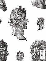 Tapete  - Gesichter Janus