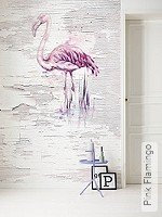 Tapete: Pink Flamingo