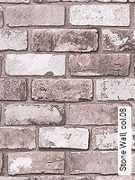 Tapete  - Imitat - moderne Tapeten Stone Wall, 08