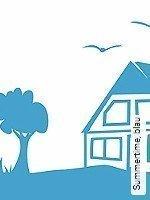 Tapete  - Kinder Summertime, blau